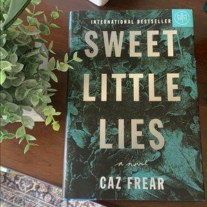 Sweet Little Lies by Caz Frear hardcover book ✨